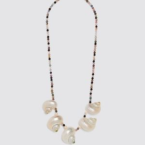 Zara Special Edition Beaded Shell Necklace
